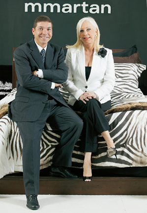 Josué e Marilena, fundadora da M. Mmartan: próxima parada da marca é a Argentina